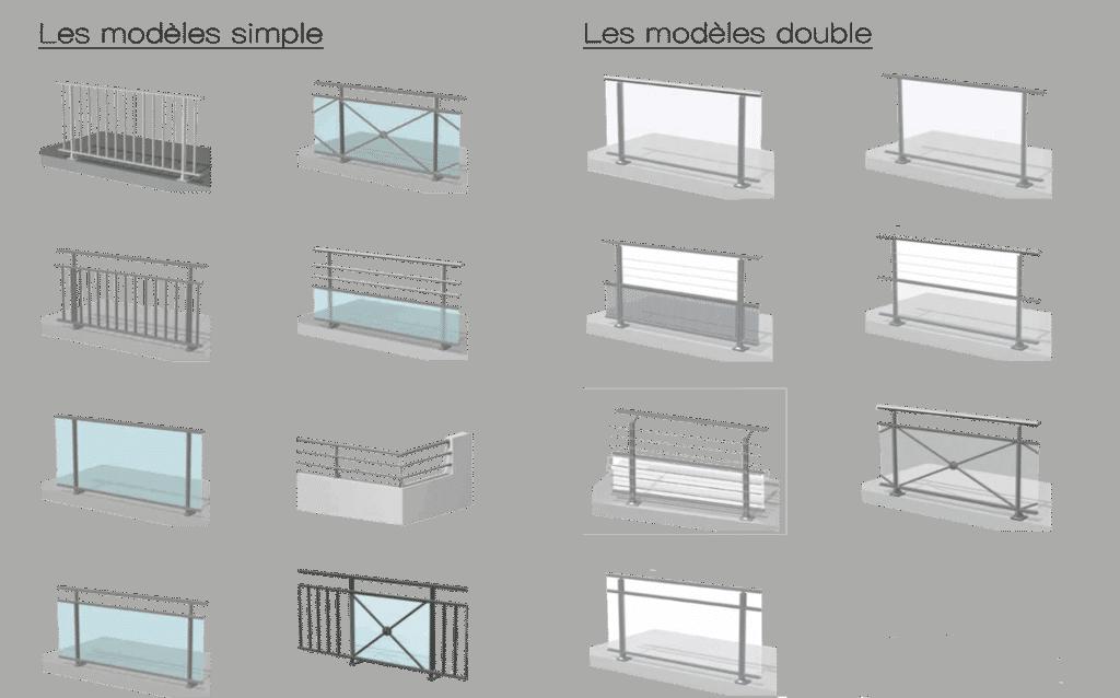 menuiserie garde corps vitr et barreaudage aluminium var. Black Bedroom Furniture Sets. Home Design Ideas
